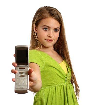 YoungGirlCellPhone