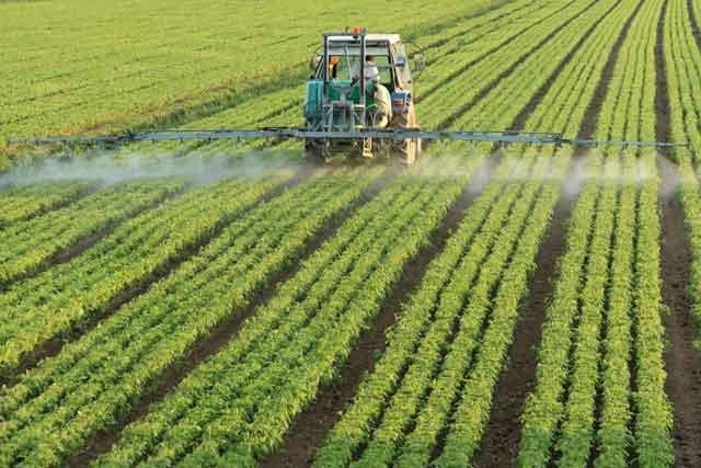 Herbicide sprayer