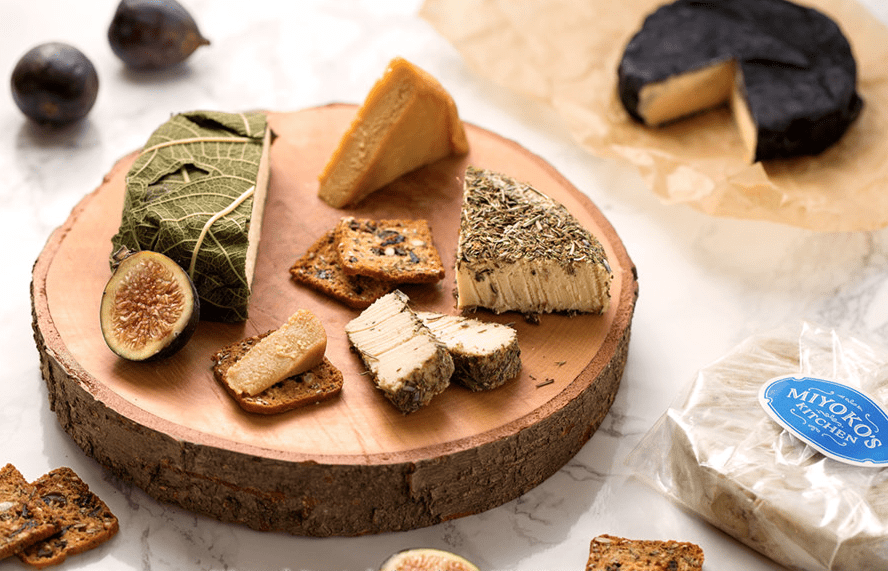 Miyoko cheese board