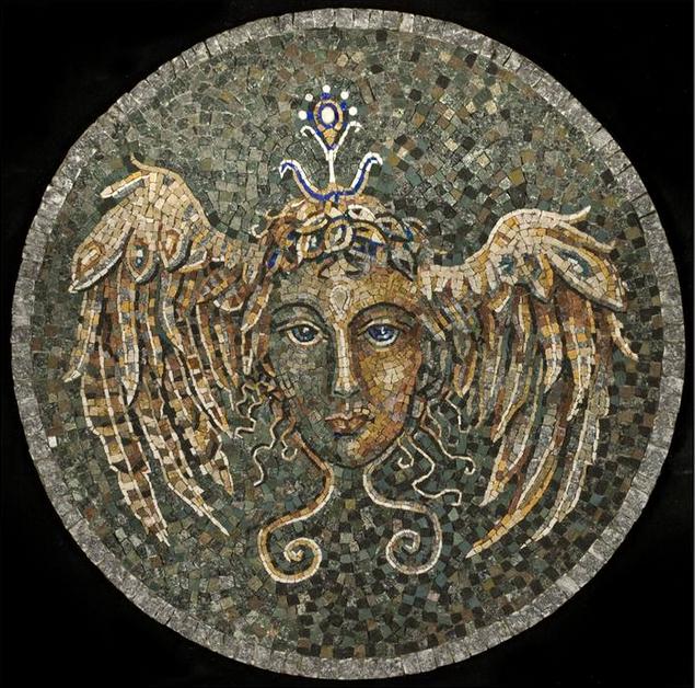Hypnos mosaic Vladimir Petrovic