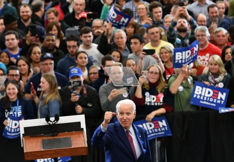 Biden Rally Michigan